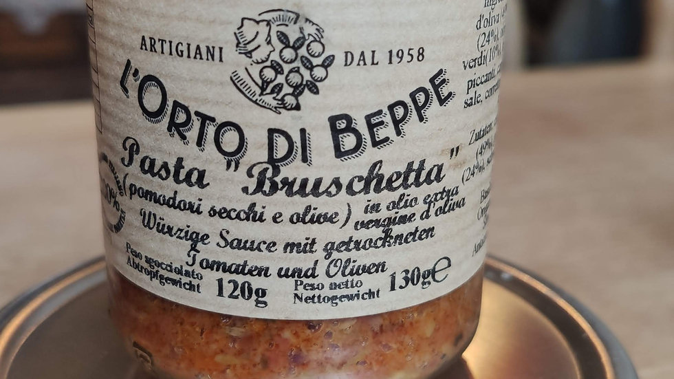 Pasta Bruschetta