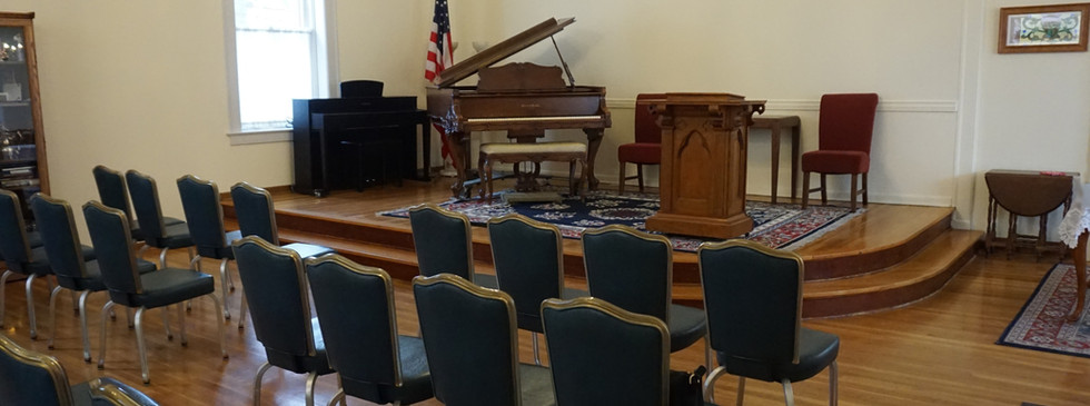 Beautiful stage and piano