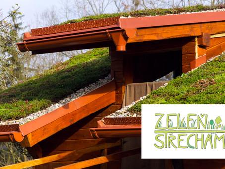 Brno jako první město v Česku finančně podpoří ozeleňování střech!