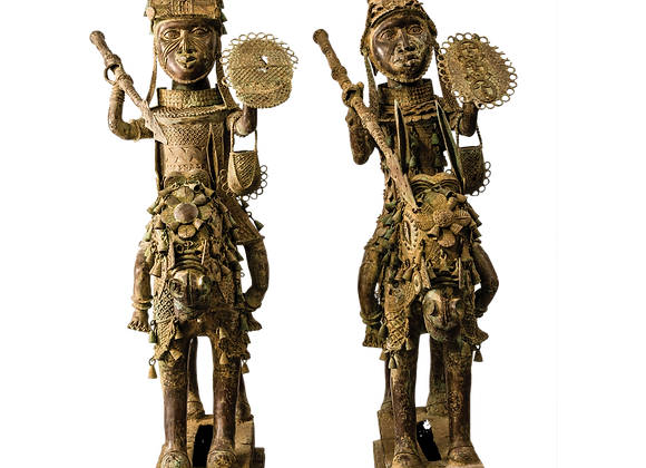 Benin Warriors on Horseback