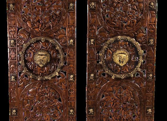 Bamoun Palace Doors