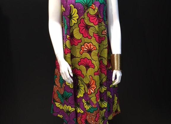 Multicolored Tulip Dress