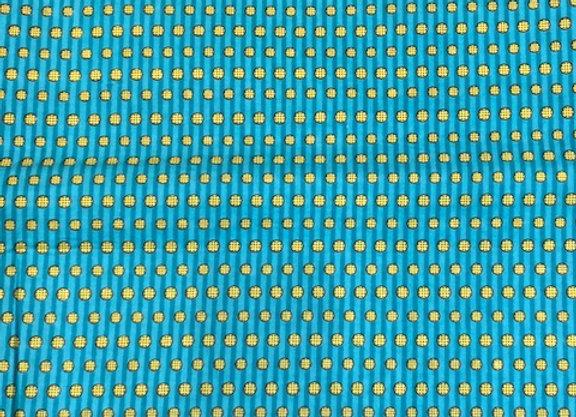 Polka Blue Fabric