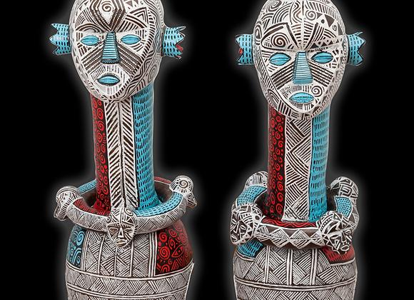 Yoruba Mumuye Pair