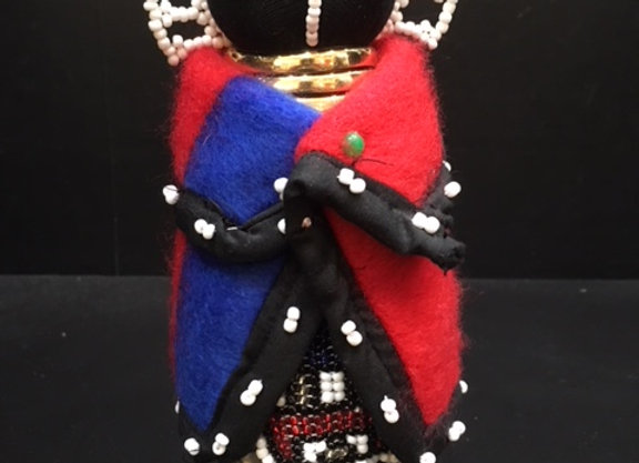 Small Ndebele Doll