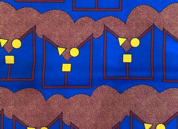 Horizon Blue Fabric