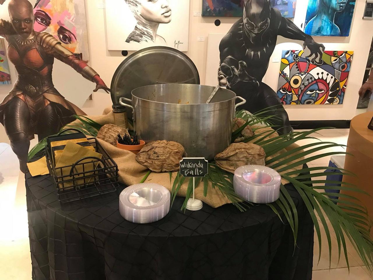 Wakanda Wednesday_Food setup.jpg
