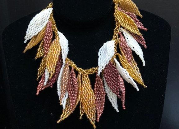 Wakonda Nude Leaf Necklace