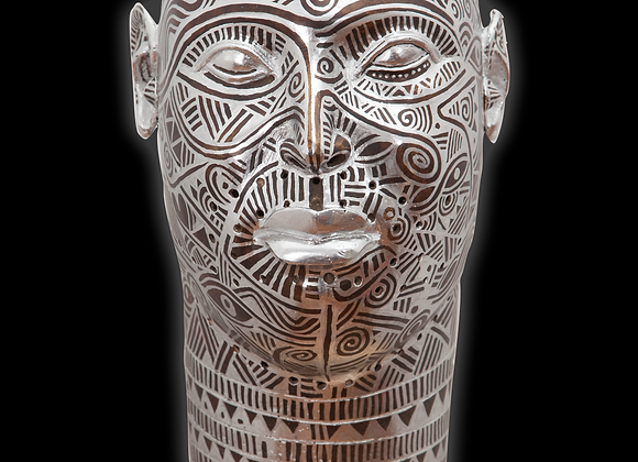 BK x Laolu NYC Bronze Ife Head