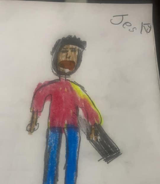 Jesky self portrait