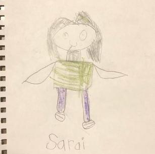 Sarai self portrait