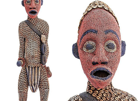 Beaded Yamba King Warrior