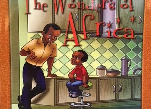 """The Wonders of Africa"" Children's Book"
