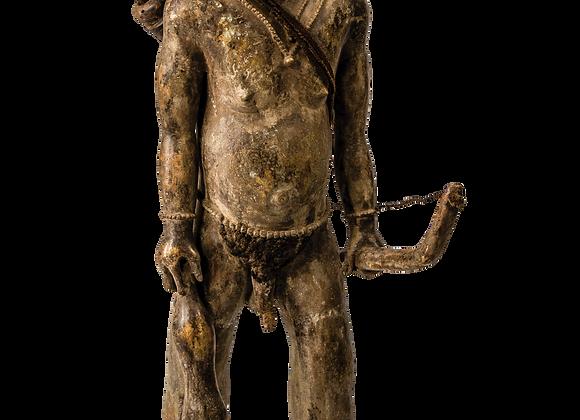 Bushman with Human Hair