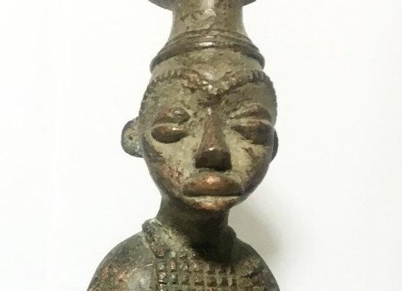 Luba Horseman Statue