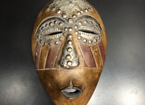 Craft Mask with Nails