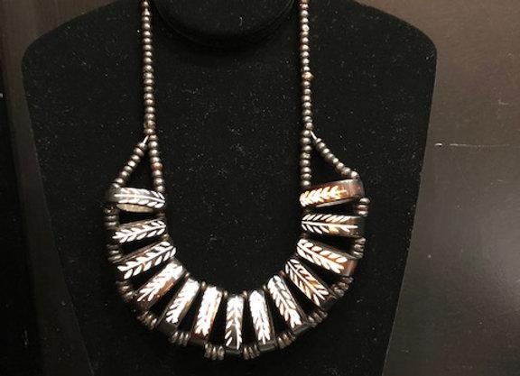 Thyme Design Bone Necklace