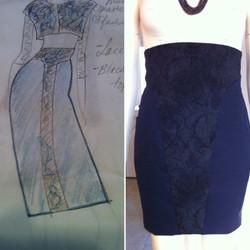 Kat Damiani Designs pencil skirt