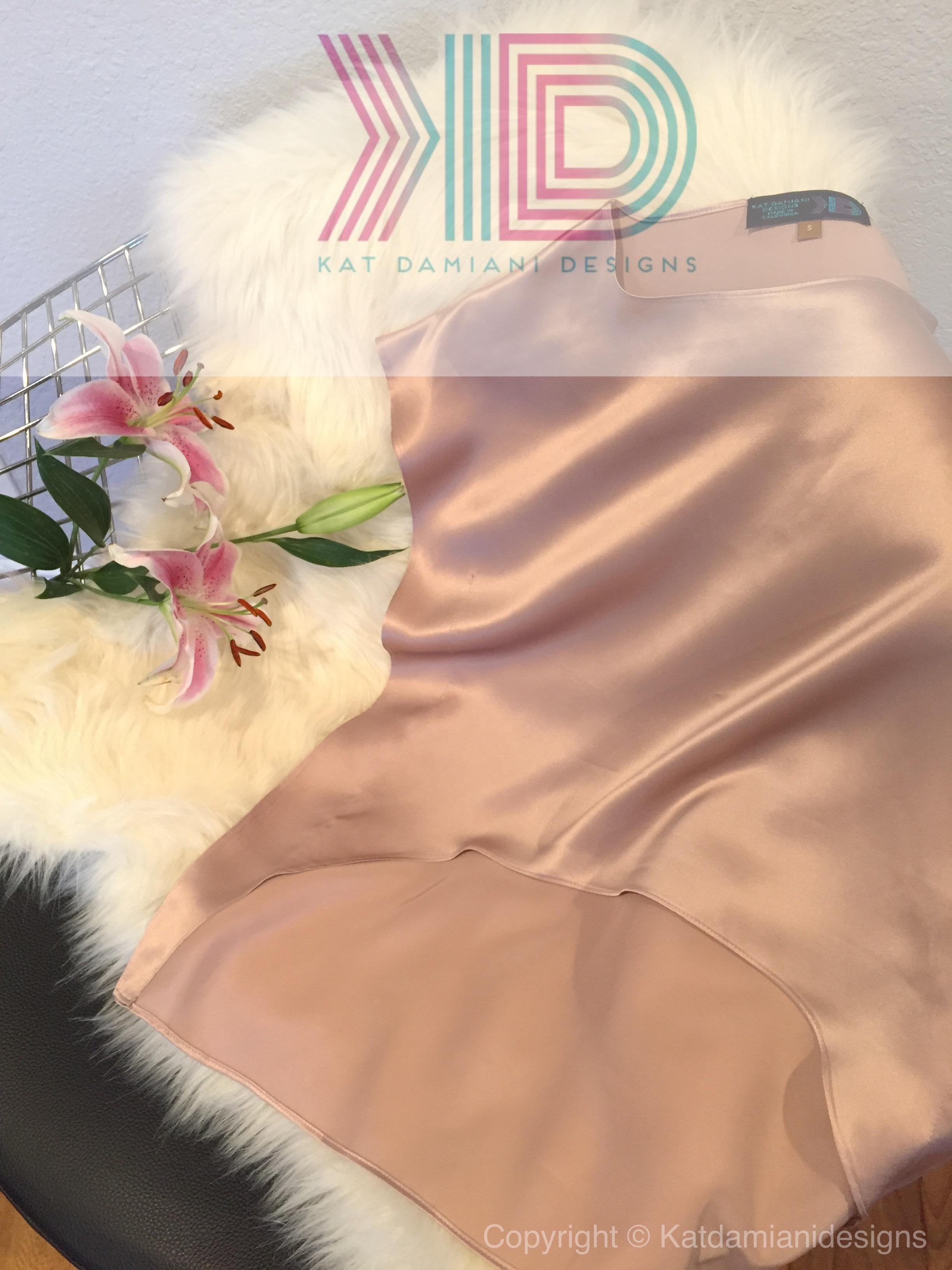 Kat Damiani Designs Silk Blouse