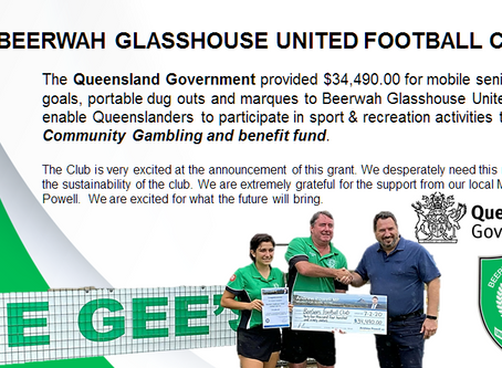 2020 - Successful grants for our Club!
