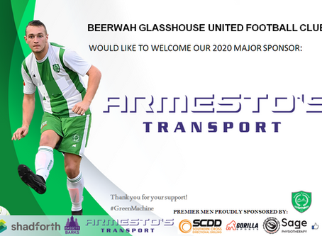 Major Sponsor - Armesto's Transport