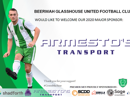 Major Sponsor - Armesto's Transport
