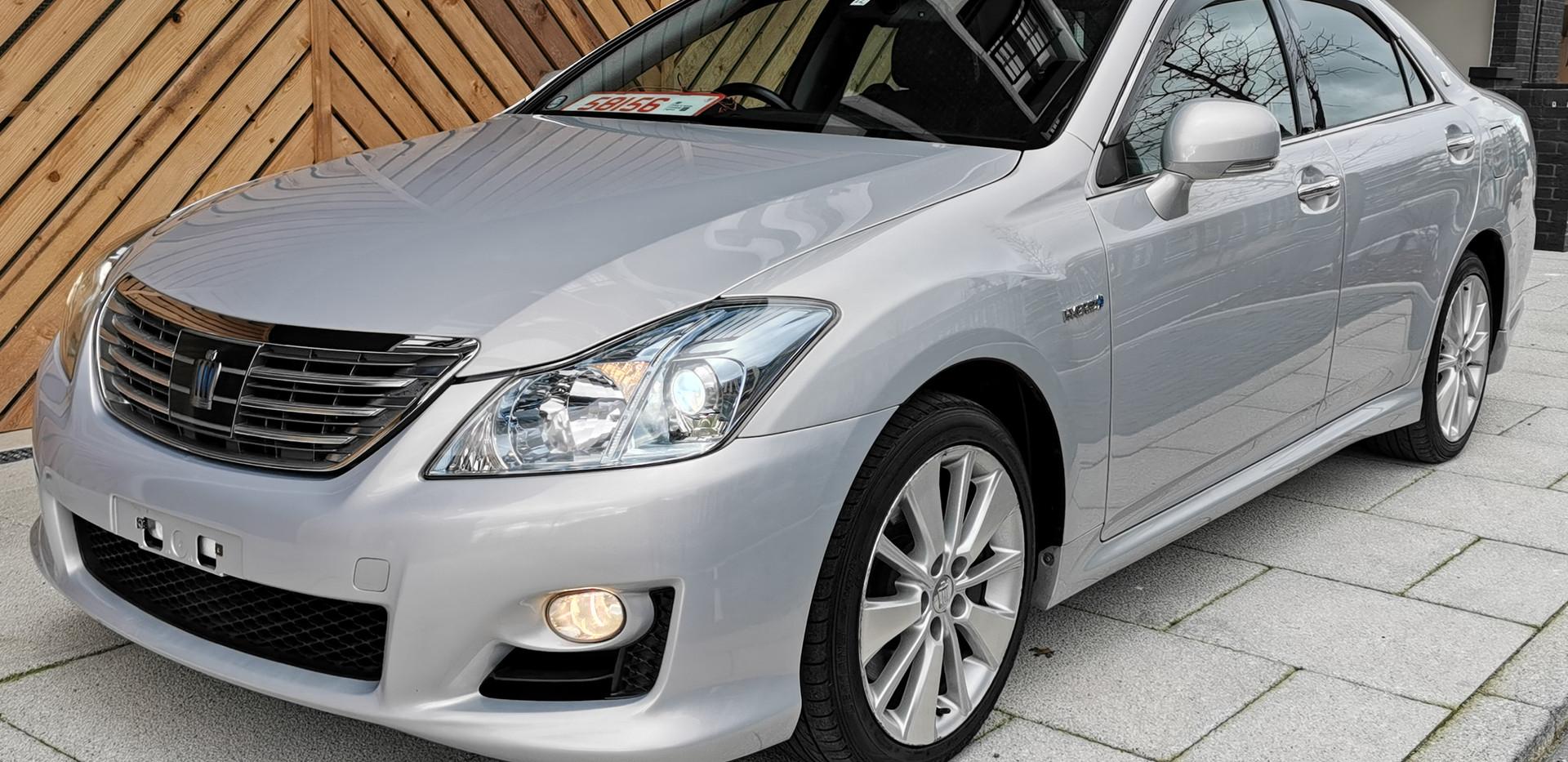 Toyota Crown Hybrid V6 in UK London