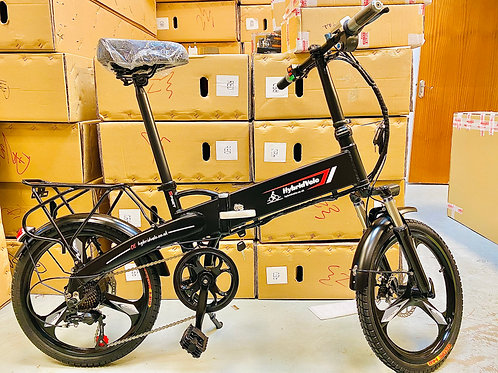 E-Bike Folding Lithium Battery Bicycle - Aluminium Frame 20 Inch