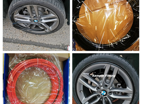Alloy Wheel Protector 14 to 22 Inch Unversal Size