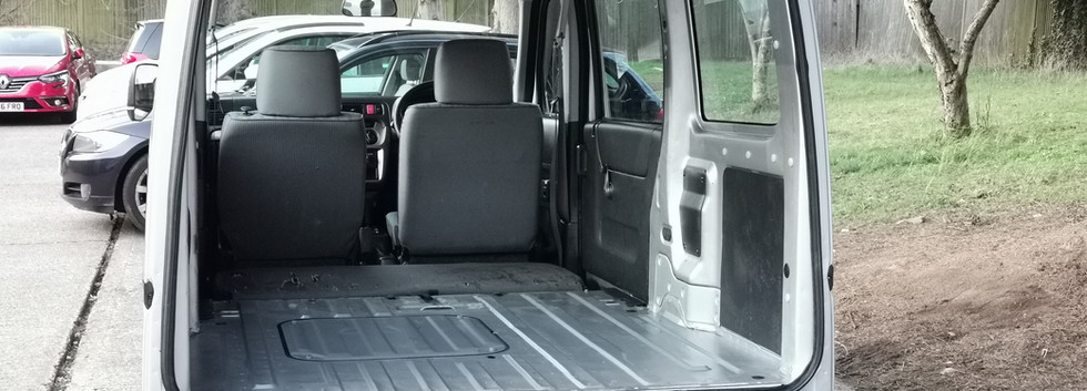 Honda Acty Cargo Area UK