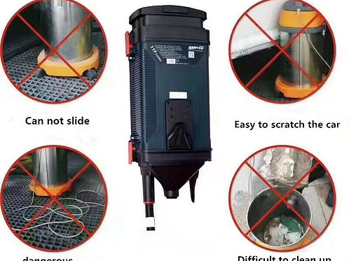 Professional Vacuum Cleaner Wall Mounted 10M Hose. Ideal Car Wash / Garage.