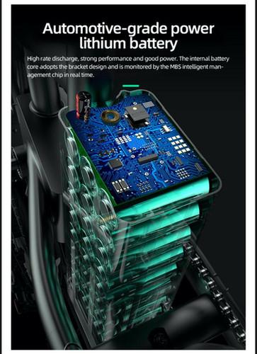 HybridVelo Battery