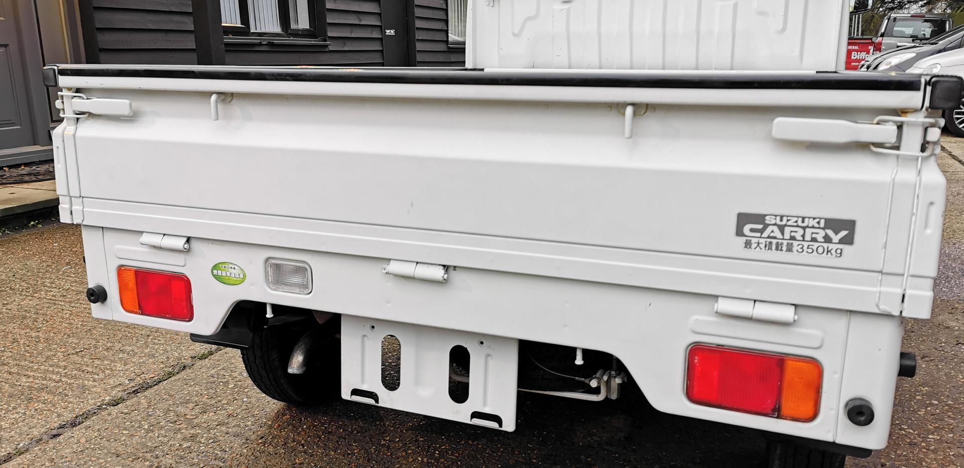suzuki carry truck rear