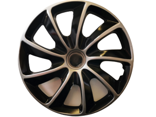 15 Inch Wheel Hub Cap Covers | Alloy Look Effects!