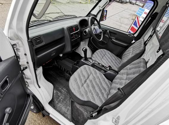 Suzuki carry truck interior