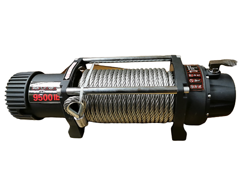 Winch 12V 4.7 Tons 95000LB 450A Relay 27M Steel Rope