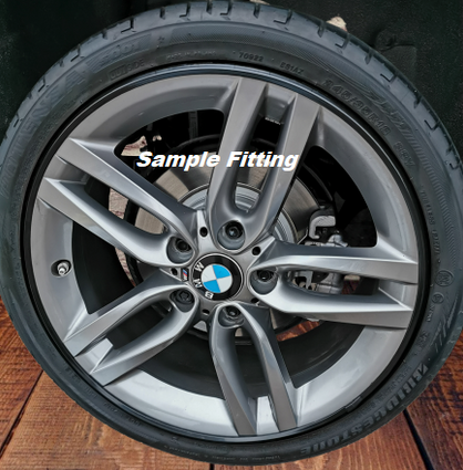 Alloy wheel protection sample fitting