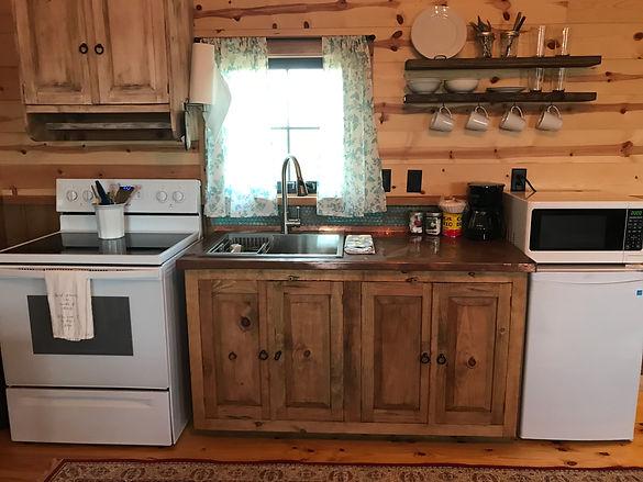 cabin 2 kitchen