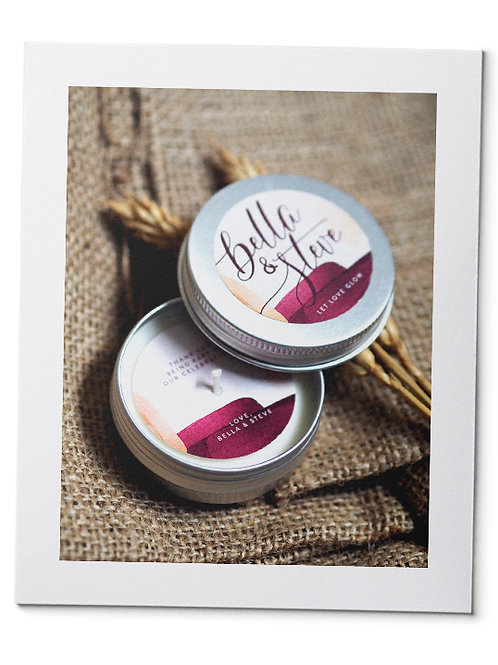 Soy Candle in Organza Pouch