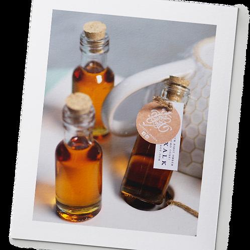 Honey in Potion Bottles
