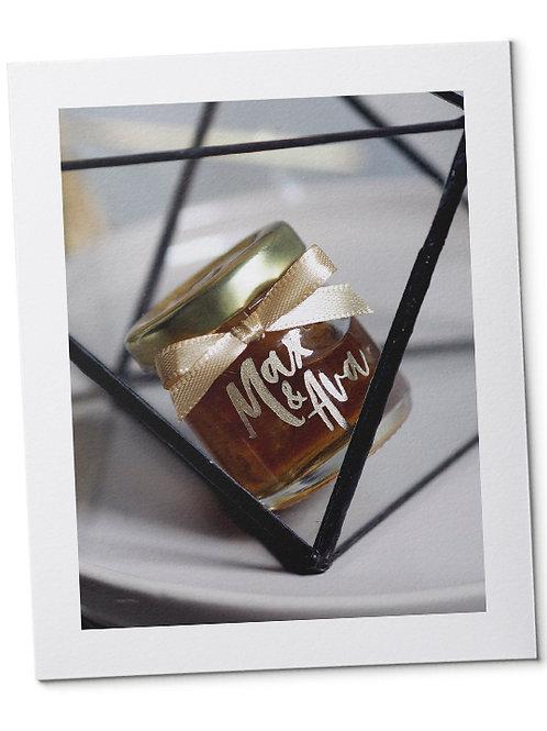 Honeycomb in Round Jar