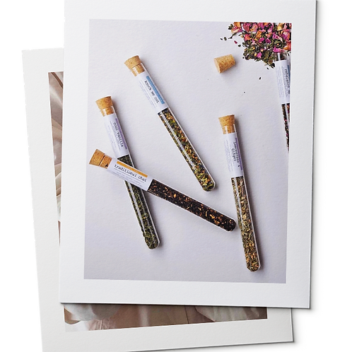 Chai in Test Tubes