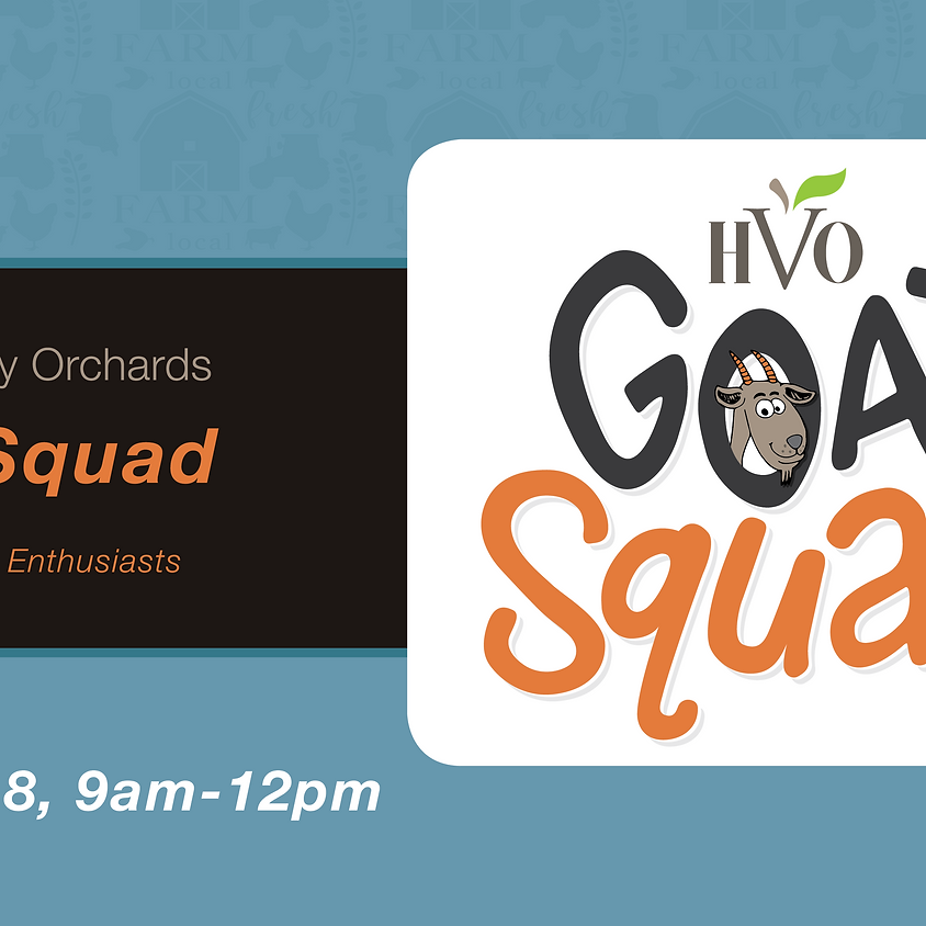 Registration Closed - Time to Squad Up - HVO Farm Youth Camp!