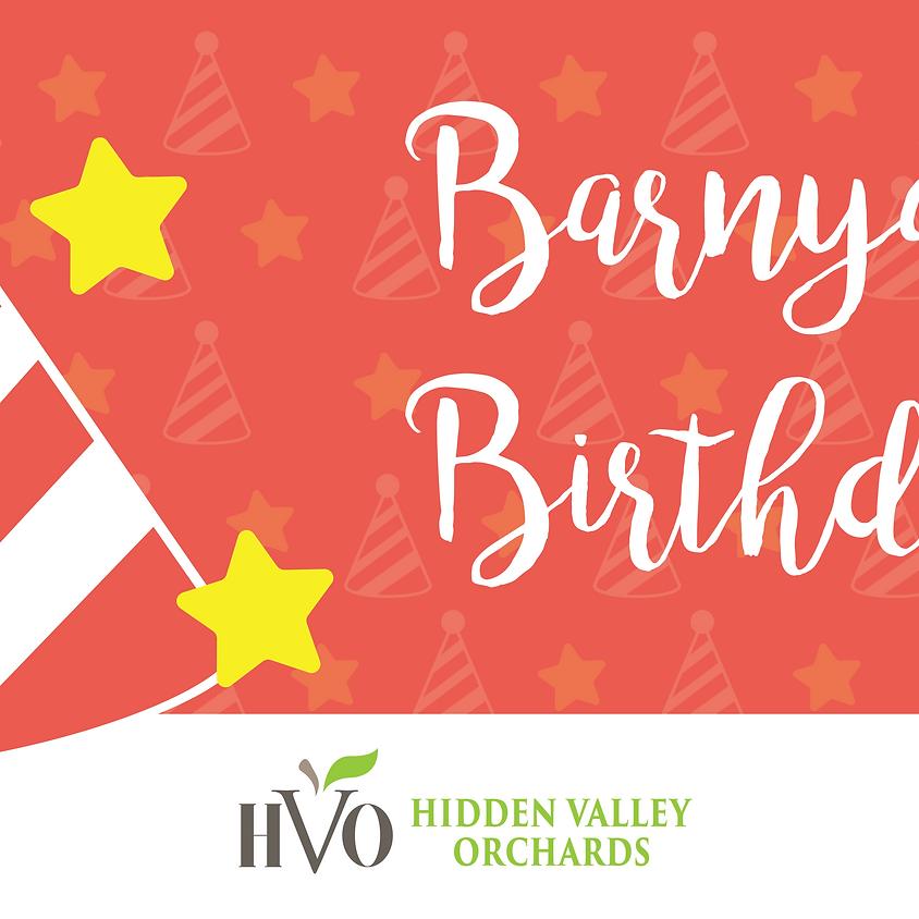 HVO Barnyard Birthday Parties!