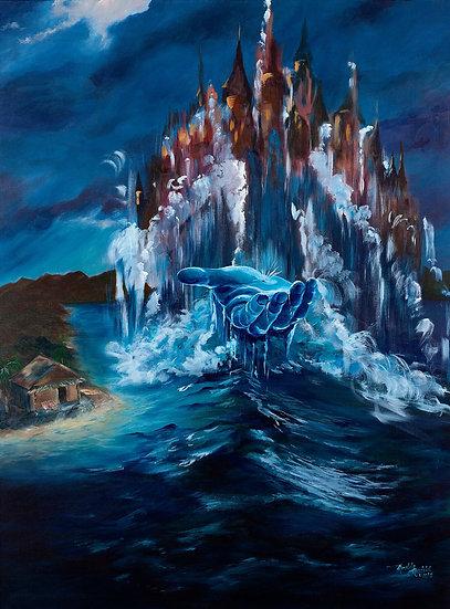 CANVAS - Kingdom of God   Canvas  30 W x 40 H   Inches