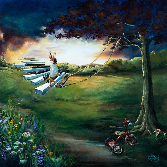 POSTER - Keys To Heaven -Poster Size: 12 W x 18 H Inches