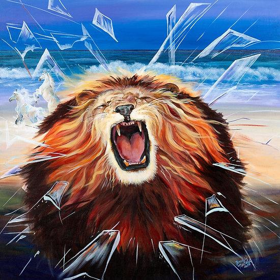 Banner - Roaring Lion