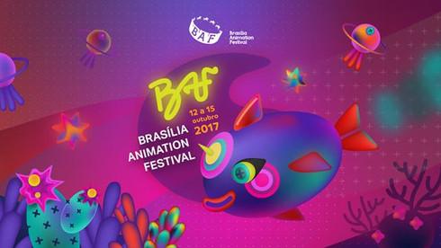 Arte criada para o BAF - Brasília Animation Festival