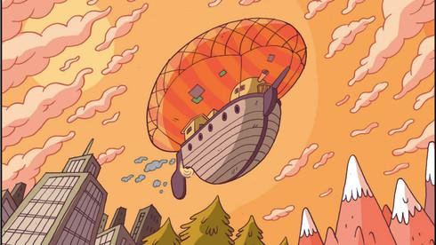 Frame do piloto de série O Extraordinário Circo do Bipo, criado por Juliet Jones
