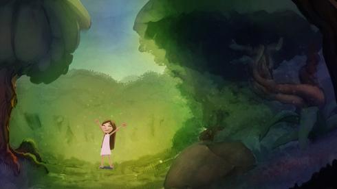 Estudo de cénário para o longa-metragem O sonho de Clarice. Arte de Gabriel